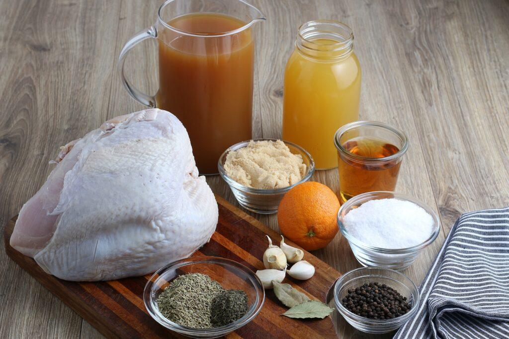 turkey brine and rub ingredients