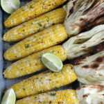 grilled corn on the cob with limes