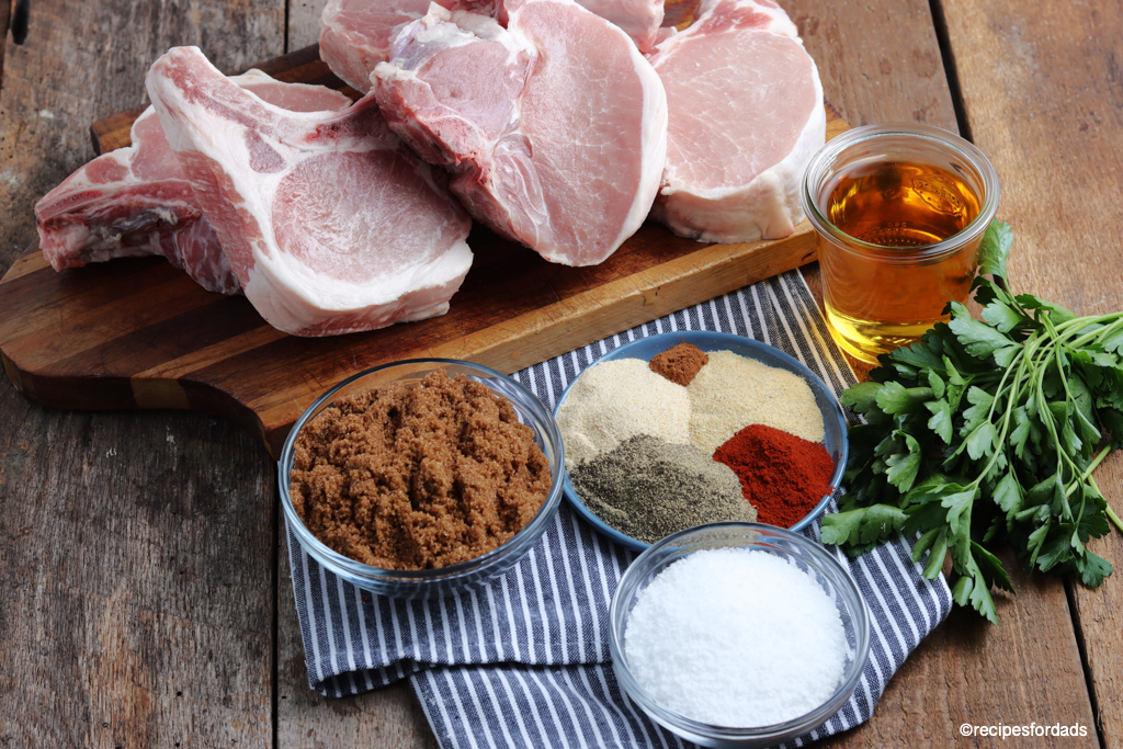 seasoning used for Smoked Pork Chop rub