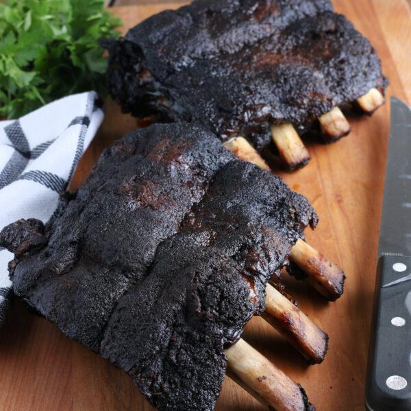 smoked beef ribs recipe